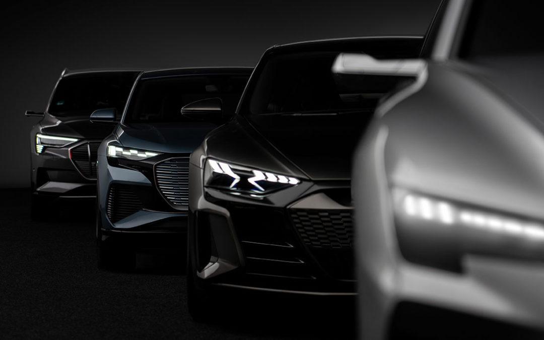 Die elektrische Zukunft von Audi – Vier e-tron Modelle