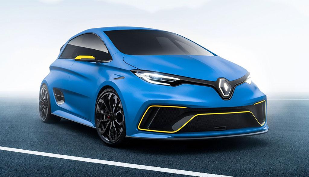 Renault Zoe RS – elektrische Zukunft des Hot Hatchback