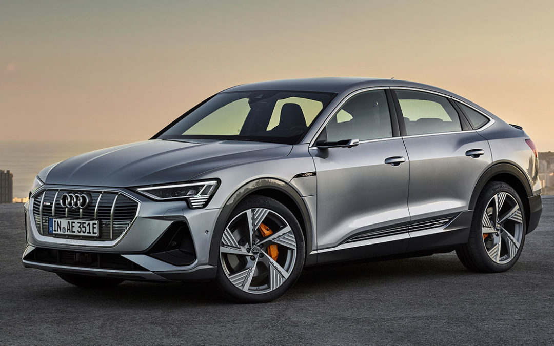 Der Audi e-tron Sportback überrascht im Detail