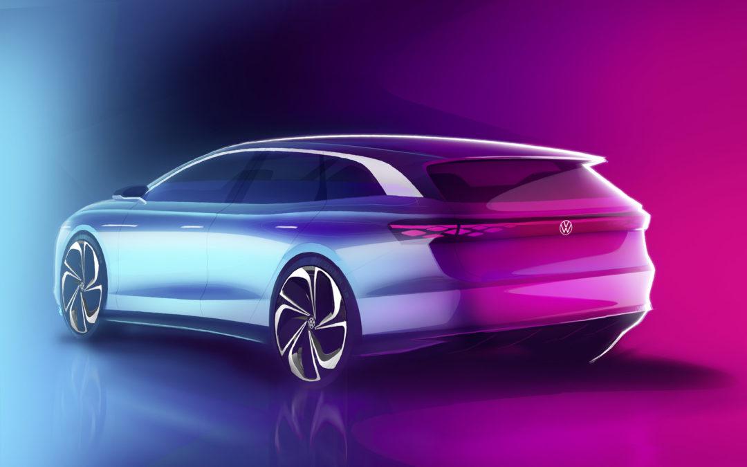 VW ID. Space Vizzion – die elektrische Zukunft des Kombi