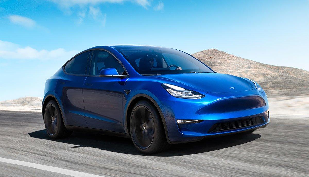 Tesla Model Y Long Range Allrad