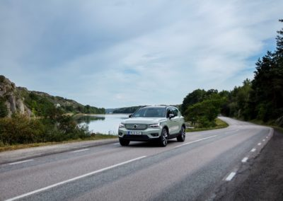 Platz 9: Volvo XC 40 Recharge - 190 km/h